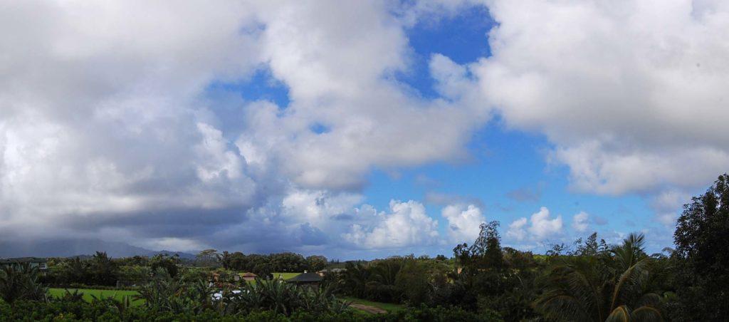 szem védelme felhős időben