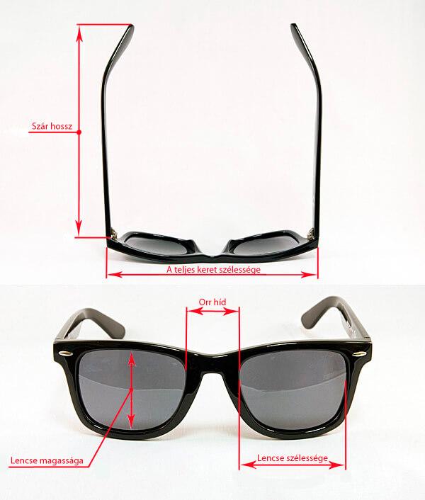 szemüveg méretei